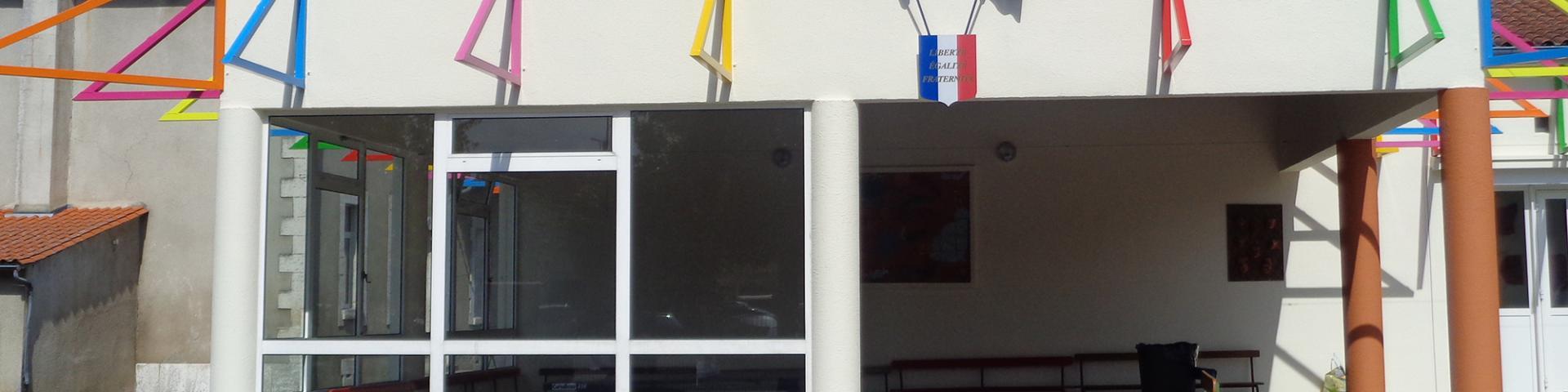 Ecole élémentaire de Roumazières-Loubert